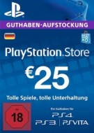 PSN Card 25 Euro DE (Deutschland) - Playstation Network