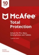 McAfee Total Protection 2018 - 10 User - 1 Jahr
