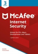 McAfee Internet Security 2018 - 3 User - 1 Jahr