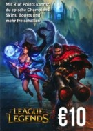 League of Legends Guthaben 10 Euro