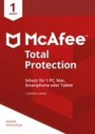 McAfee Total Protection - 1 PC