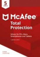 McAfee Total Protection - 5 PCs
