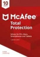 McAfee Total Protection - 10 PCs