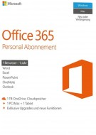 Microsoft Office 365 Personal - 1 User - 1 Jahr