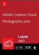 Adobe Creative Cloud Fotografie - 20 GB - 1 Jahr